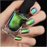 Blaugrünes Farben-Schaltpigment, Ocrown Chamäleon-Nagel-Kunst-Pigment