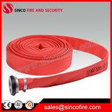 "13bars 65mm 2.5 "" flexible en PVC rouge feu"