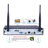 4HSC 1.0/1.3/2.0 Megapixeis ir à prova de IP sistema NVR de segurança