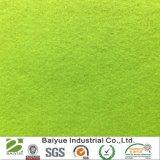 Corte de poliéster feltro verde Handicrats e ornamentos de bricolage