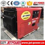 Stille AC van het Type Draagbare 380V 5kw Diesel Generator In drie stadia