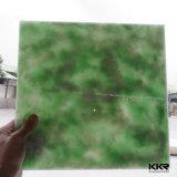 Искусственним доработанный камнем лист качества твердый поверхностный просвечивающий