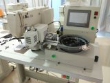 Bouton alimentant de bouton automatique fixant la machine