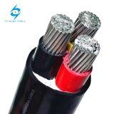 Низкое напряжение XLPE/ПВХ изоляцией алюминиевых подземный кабель питания