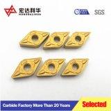 Insertos de carburo Zhuzhou CNC para herramientas de corte