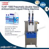 El doble neumático dirige la máquina de rellenar líquida de la anticorrosión hacia el producto químico (YLHF-1000)