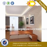Sala de estar moderna mobília em madeira mesa de café (HX-8NR1130)