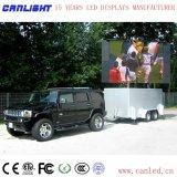 Schermo di visualizzazione mobile del LED del bus dello schermo di visualizzazione del LED del tassì dello schermo di visualizzazione del LED del camion dello schermo di visualizzazione del LED P5mm per la pubblicità mobile