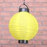 Lâmpada de jardinagem ao ar livre solar da vela do diodo emissor de luz da qualidade agradável