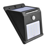 IP65 impermeabilizan la iluminación al aire libre ligera solar del jardín de la lámpara de 16 LED