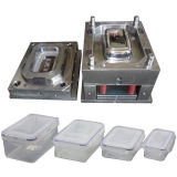 Practical Plastic Injection Buffet Box Mould