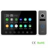 Interphone домашней обеспеченностью памяти 7 дюймов телефона двери внутренной связи видео-