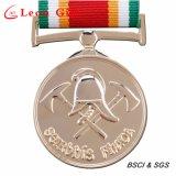 공장 질 주문 광택이 없는 은 금속 Hocky 스포츠 포상 메달