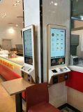 15.6, 17, 19, 22, 27, 32, 37, 43, 55--Terminal de service de machine de commande de pouce utilisé pour le kiosque d'écran tactile LCD de repas de grande quantité de commande