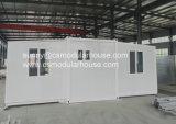 Casa prefabricada movible del envase con el tocador (hogar del envase)