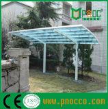 Carport di alluminio esterno con il tetto del policarbonato (224CPT)