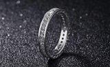 Anelli reali dell'argento sterlina di 100% 925 per monili nuziali di cerimonia nuziale di disegno semplice delle donne i i migliori