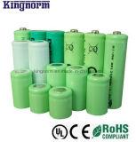 AAA 10440 1.2V 600mAhの低い自己放電のニッケル金属水素化合物電池