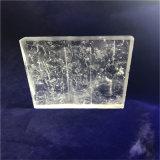 산성 표면을%s 가진 수정같은 유리 벽돌