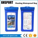 Plage de flottement gonflée nageant le sac imperméable à l'eau de cellules/téléphone mobile