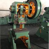 Máquina da imprensa de potência da imprensa de perfuração J23 do furo do metal de folha de China 125ton