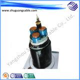 Cu entièrement blindé/isolation XLPE/gainé PVC/instrument/Câble blindé