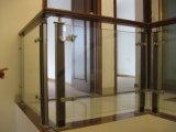 Мода конструкция из нержавеющей стали со спиральными лестницами шаги Baluster древесины на поручне
