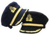 Mlitaryのバイザーのピークの軍当局者の帽子の軍の軍隊の帽子