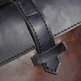 Cartella del sacchetto di affari del sacchetto dei contanti del sacchetto di frizione del cavallo degli uomini pazzeschi di alta classe dell'unità di elaborazione per l'uomo nella buona qualità