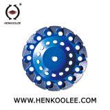 V Type Segment Diamond meulage tasse pour le béton de roue