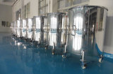 Goede Kwaliteit 304 Tank van het Water van het Roestvrij staal de Steriele Verticale