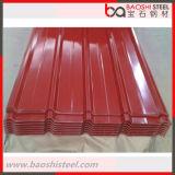 Покрасьте Coated Corrugated лист толя для строительного материала