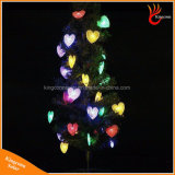 심혼 크리스마스 결혼식을%s 모양 태양 강화된 50LED 끈 빛