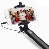 Связанная проволокой дистанционная Extendable Handheld ручка Selfie штарки для iPhone Samsung Apple