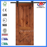 Medium Size Flat Double Sliding Barn DOOR