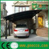 Alta Carga de neve Carports metálicas portáteis com teto de policarbonato