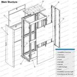 Ga 25u-48u Metal permanente para Rack armario de la red de radiodifusión y telecomunicaciones
