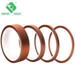 Poliamida de alta temperatura adhesivo resistente al calor de la cinta de oro para tareas eléctricas