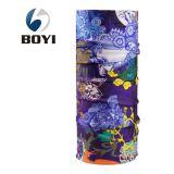 中国の工場OEMによってカスタマイズされるデザインによって印刷されるポリエステルHeadwear