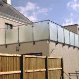 Einfacher Glasteiler bereiftes ausgeglichenes Glas-Geländer für Wohngebäude