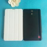 De goedkope Tablet van Phablet van 7 Duim 3G met het Dubbele GPS van WiFi Bluetooth van de Kaart SIM Geval van het Leer