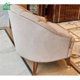 직물 실내 장식품 호텔 로비 소파, 상한 나무로 되는 호텔 라운지용 의자