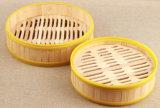 Vaporera de bambú de silicio para la comida china