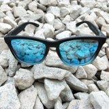 Venda por grosso moda óculos de sol clássico com o logotipo personalizado certificado CE 2017