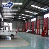 Длинний Prefab коммерческого использования пяди гальванизировал конструкцию мастерской ремонта автомобиля стальной структуры
