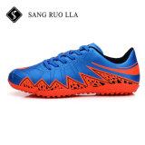 2017 Футбол-Ботинок износа спорта ботинок футбола нового способа конструкции крытых с резиновый подошвой