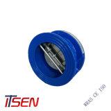 ASTM A126 Roheisen-Oblate-Rückschlagventil mit Gummimantel