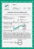 Grue de portique réglable de hauteur de biens de certificat de la CE avec l'élévateur