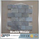 Mosaico poco costoso del marmo di prezzi di alta qualità, mosaico di pietra di marmo bianco