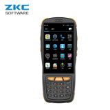 Código de barras androide del explorador de laser de la base 4G del patio de Zkc PDA3503 Qualcomm 1d PDA